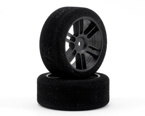 Xceed RC 26mm Enneti 1/10 Carbon Nitro Sedan Front Tires (2) (35 Shore)