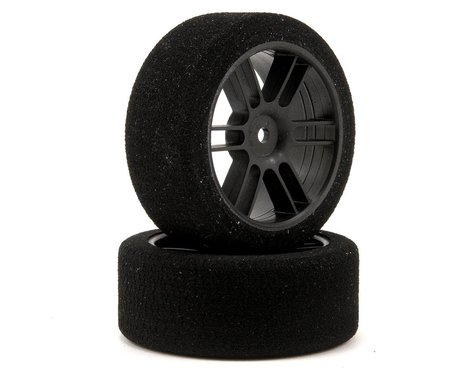 Xceed RC 26mm Enneti 1/10 Carbon Nitro Sedan Front Tires (2) (40 Shore)