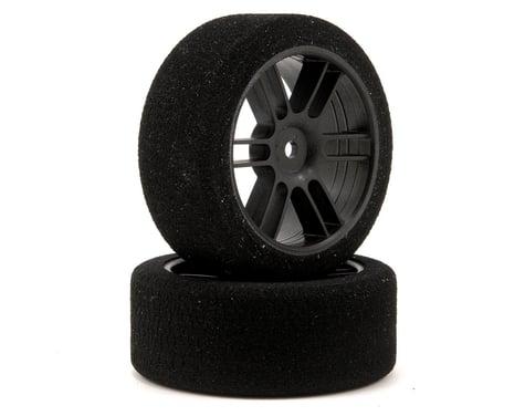 Xceed RC 26mm Enneti 1/10 Carbon Nitro Sedan Front Tires (2) (42 Shore)