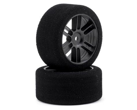 Xceed RC 30mm Enneti 1/10 Carbon Nitro Sedan Rear Tires (2) (37 Shore)
