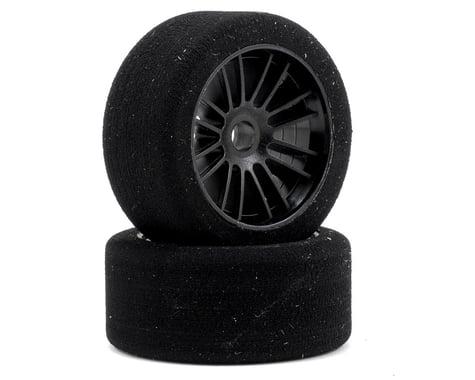 "Xceed RC ""Enneti"" World GT Carbon Carpet Front Tires (2) (Black) (35 Shore)"
