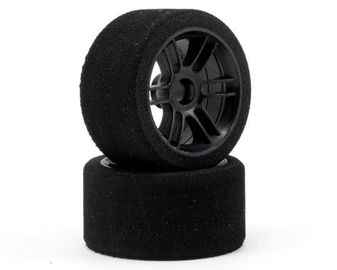 """Xceed RC """"Enneti"""" 1/12 Carbon Front Tires (2) (Carbon Black) (35 Shore)"""