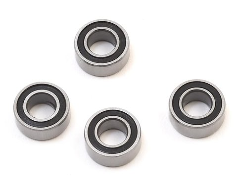 X Factory 5x10x4mm Rubber Sealed Bearing (4)