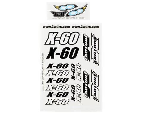X Factory X-60 Decal Sheet