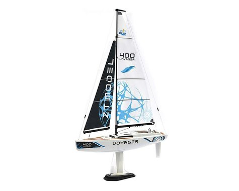 PlaySTEAM Voyager 400 Sailboat w/2.4GHz Transmitter (Blue)