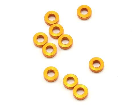 XRAY 3x6x2.0mm Aluminum Shim (Orange) (10)