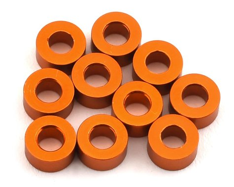 XRAY 3x6x3.0mm Aluminum Spacer Shim (Orange) (10)