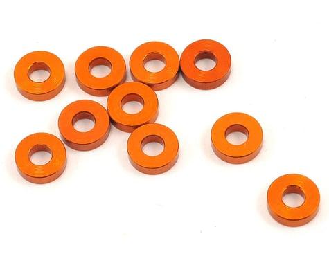 XRAY 3x7x2.0mm Aluminum Washer (Orange) (10)