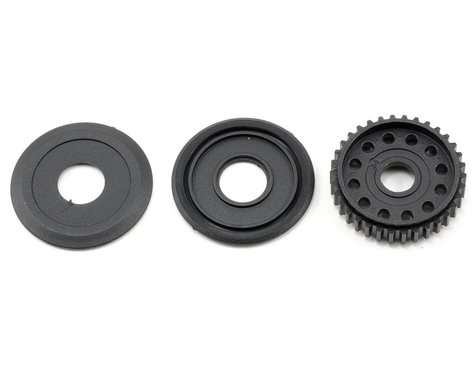Xray 34T Differential Pulley w/Labyrinth Dust Covers