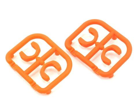 XRAY 3.5mm Plastic Drive Pin Clips (4) (Orange)
