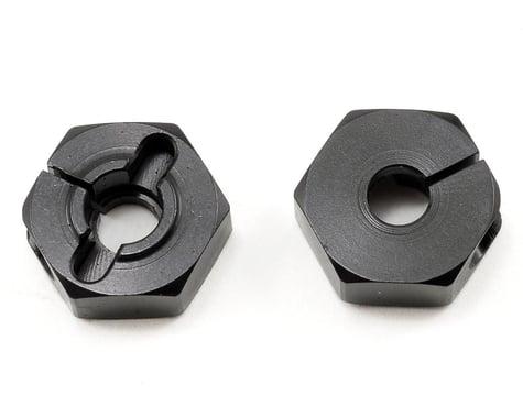 XRAY Aluminum Wheel Hub (Black) (2) (T2)
