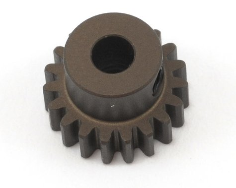 XRAY Aluminum 48P Narrow Hard Coated Pinion Gear (3.17mm Bore) (19T)