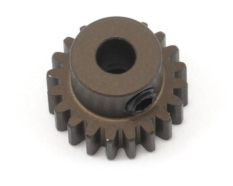 XRAY Aluminum 48P Narrow Hard Coated Pinion Gear (3.17mm Bore) (20T)