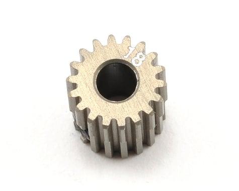 XRAY Aluminum 64P Narrow Hard Coated Pinion Gear (18T)