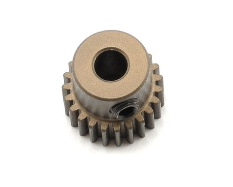 XRAY Aluminum 64P Narrow Hard Coated Pinion Gear (23T)