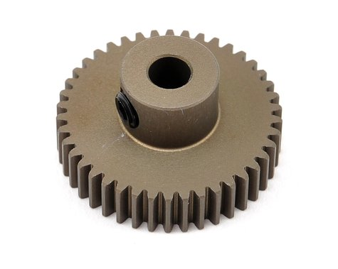 XRAY Aluminum 64P Narrow Hard Coated Pinion Gear (42T)