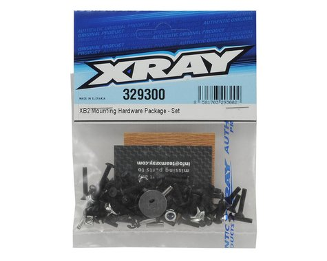 XRAY XB2 Mounting Hardware Set