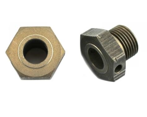 """XRAY Aluminum Wheel Axle Offset """"+1mm"""" - Hard Coated (2)"""