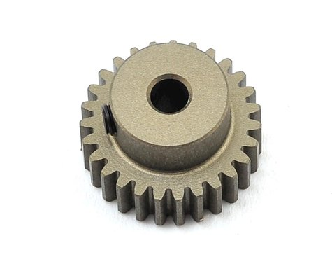 XRAY Aluminum 48P Hard Coated Pinion Gear (3.17mm Bore) (27T)