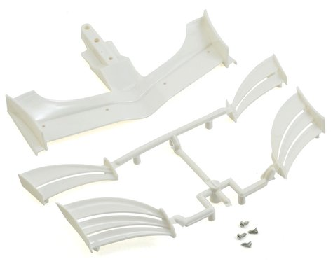 XRAY X1 2018 ETS Composite Adjustable Front Wing (White)