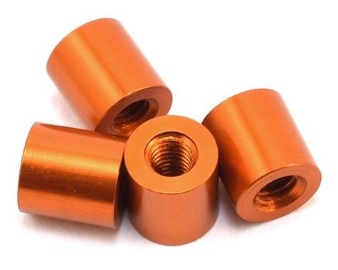 XRAY 6x6.4mm Aluminum Stand Spacer (Orange) (4)