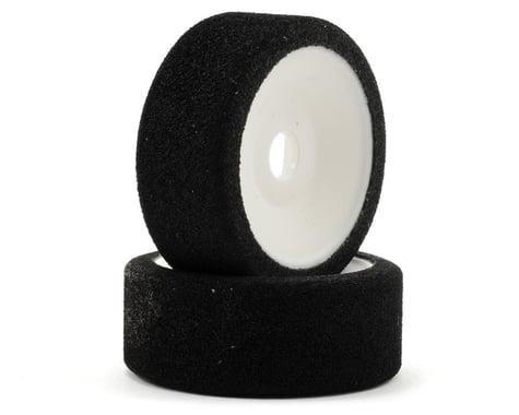 XRAY 9mm Hex Front Foam Tire Mounted (2) (White) (50 Deg)