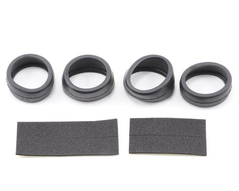 Xray Front & Rear Micro Rubber Tire w/Inserts (40¡) (2)