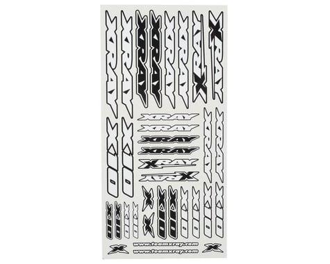 XRAY X10 Sticker Sheet (White)