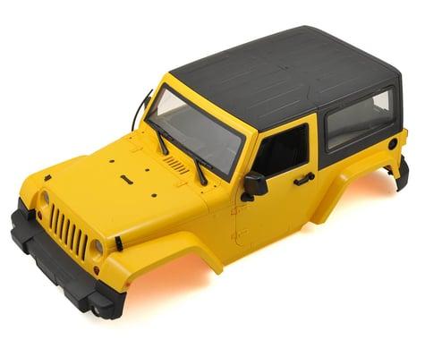 Xtra Speed 1/10 Plastic Hardtop Scale Crawler Hard Body (Yellow) (275mm)