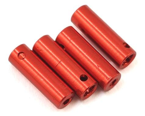 Xtra Speed Orlandoo Hunter Aluminum Shock Body Set (Orange) (4) (35P01/35A01)