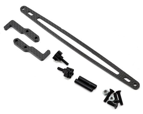 Xtreme Racing XRAY T4 Carbon Fiber Battery Hold Down Kit