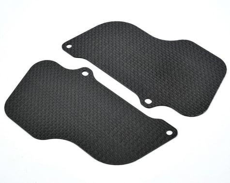 Xtreme Racing 1.2mm Carbon Fiber Rear Wheel Mud Guard Set (2)