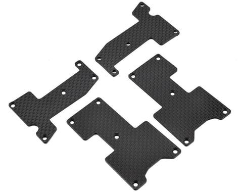 Xtreme Racing Hot Bodies D815/D812 1.6mm Carbon Fiber Arm Inserts