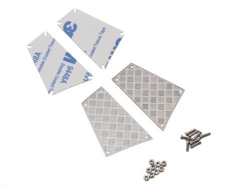 Yeah Racing Traxxas TRX-4 Stainless Steel Diamond Plate Rear Side Panels