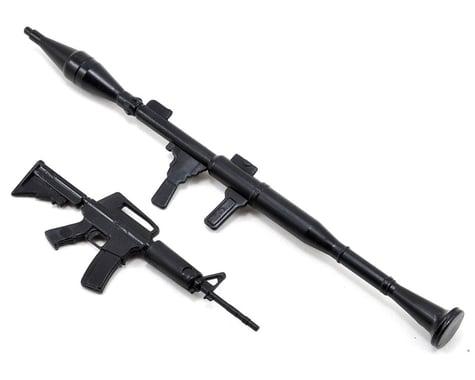 Yeah Racing 1/10 Crawler Scale Accessory Set (Rifle & RPG)
