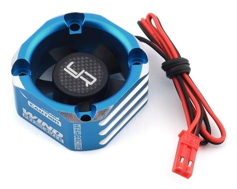 Yeah Racing 30x30 Aluminum Case Booster Fan (Blue)