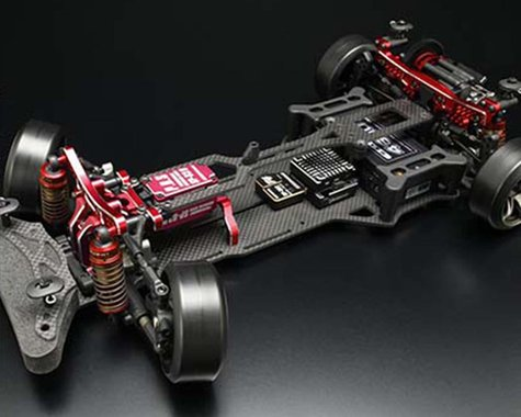 Yokomo YD-2RX Limited Edition 1/10 2WD RWD Competition Drift Car Kit (Red)