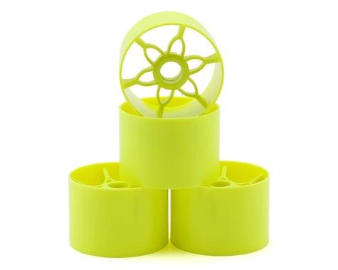 Yokomo 1/12 Front Wheel (Yellow) (4)