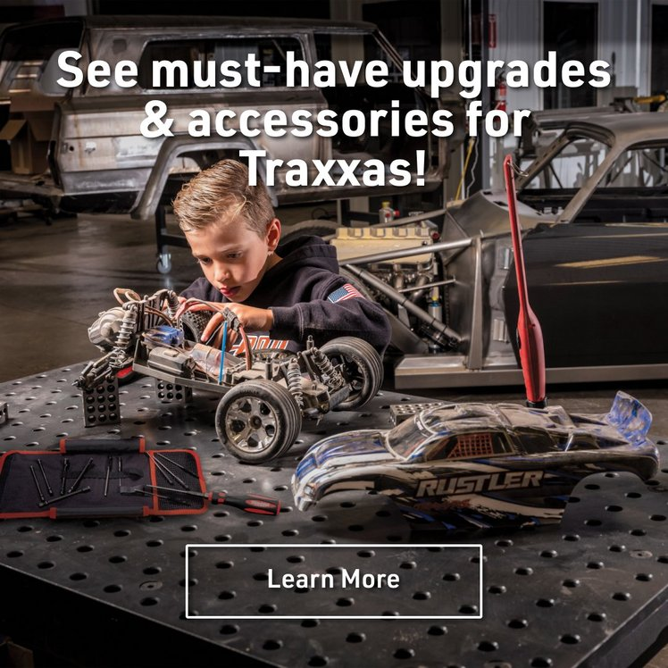 See must-have upgrades & accessories for Traxxas!