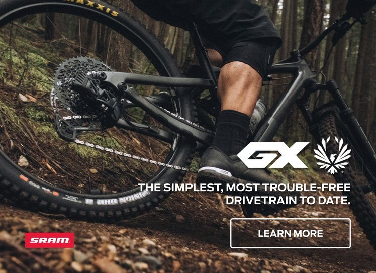 SRAM GX Eagle AXS - The simplest, most trouble-free drivetrain to date.