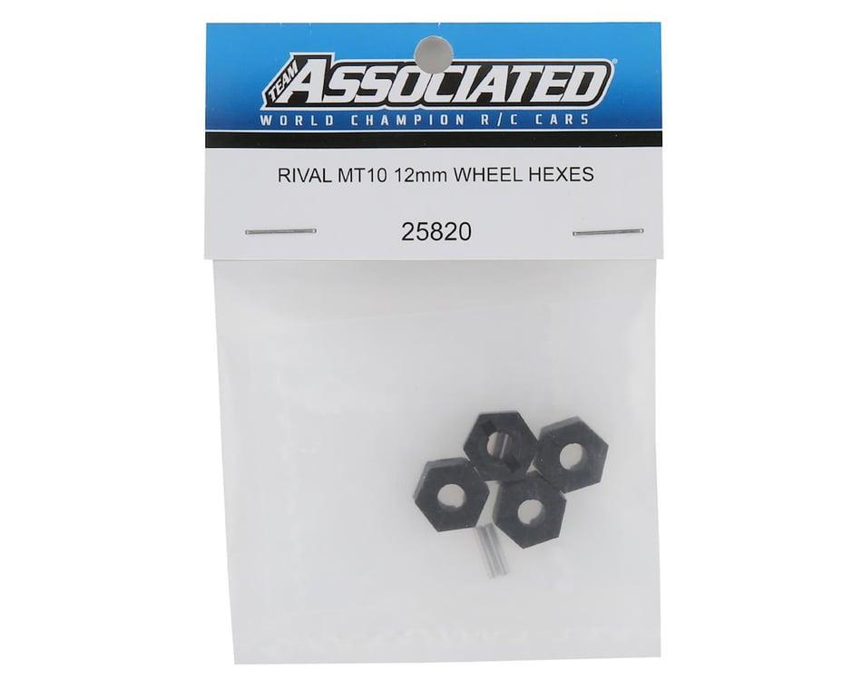 Team Associated Wheel Hexes 12mm ASC25820 Rival MT10