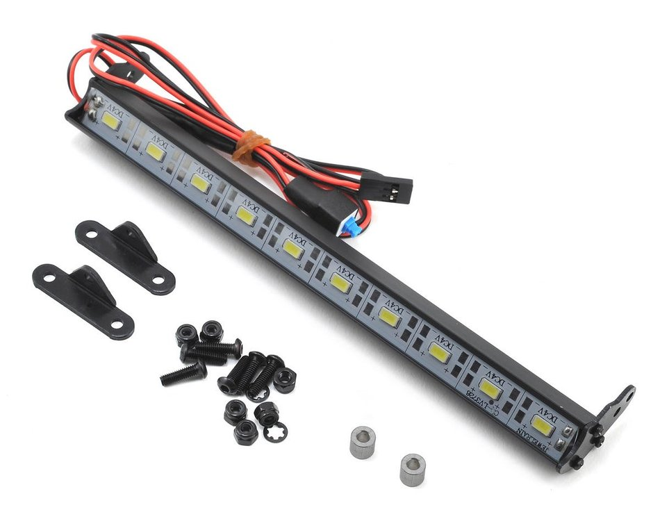 RC 1//10 Scale XP 10 LED Alum Light Bar Kit 170mm TRX4-SCX10-Crawlers US Seller