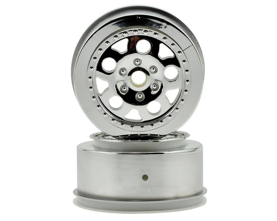 Team Associated 9868 KMC Front Wheel Chrome 2