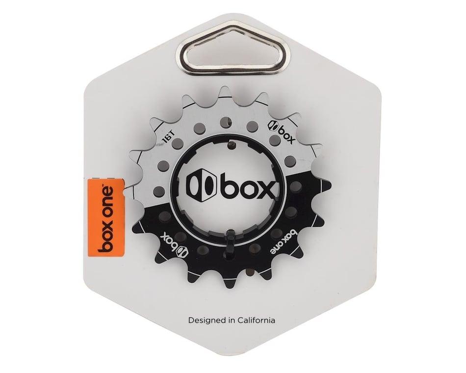 BX-CO1575A16-BK Box One 3//32 CNC AL 7075 Cog 16T Black