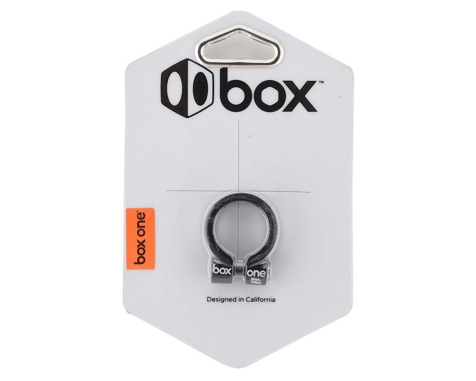 BOX BMX HELIX SEAT CLAMP 25.4 BLK