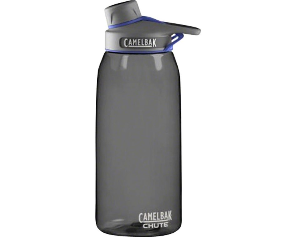 Camelbak Chute Water Bottle 1 Liter Charcoal 53516 Accessories Amain Cycling