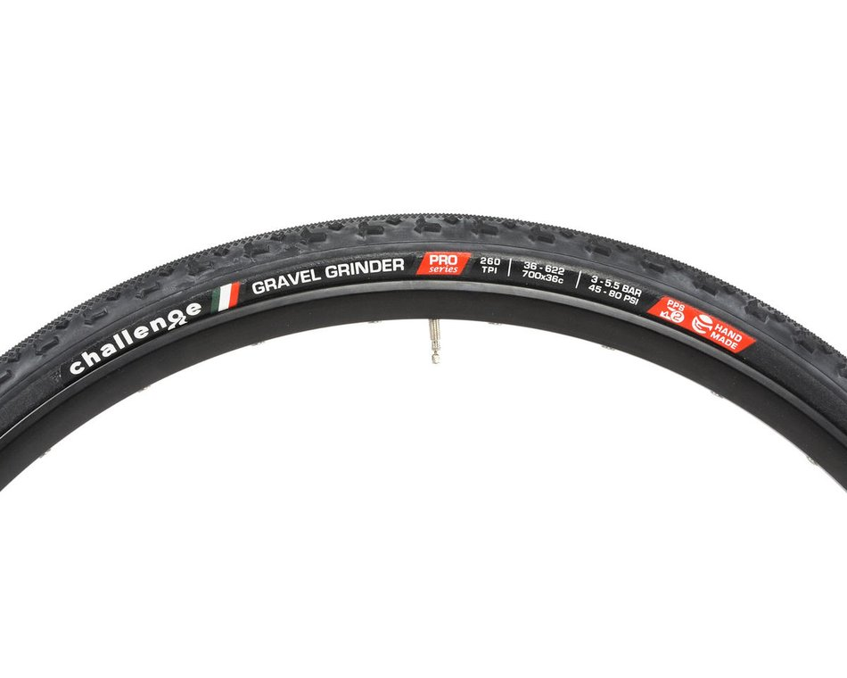 2 tires tan open tubular 700 x 33 1 pair black Challenge Fango clincher