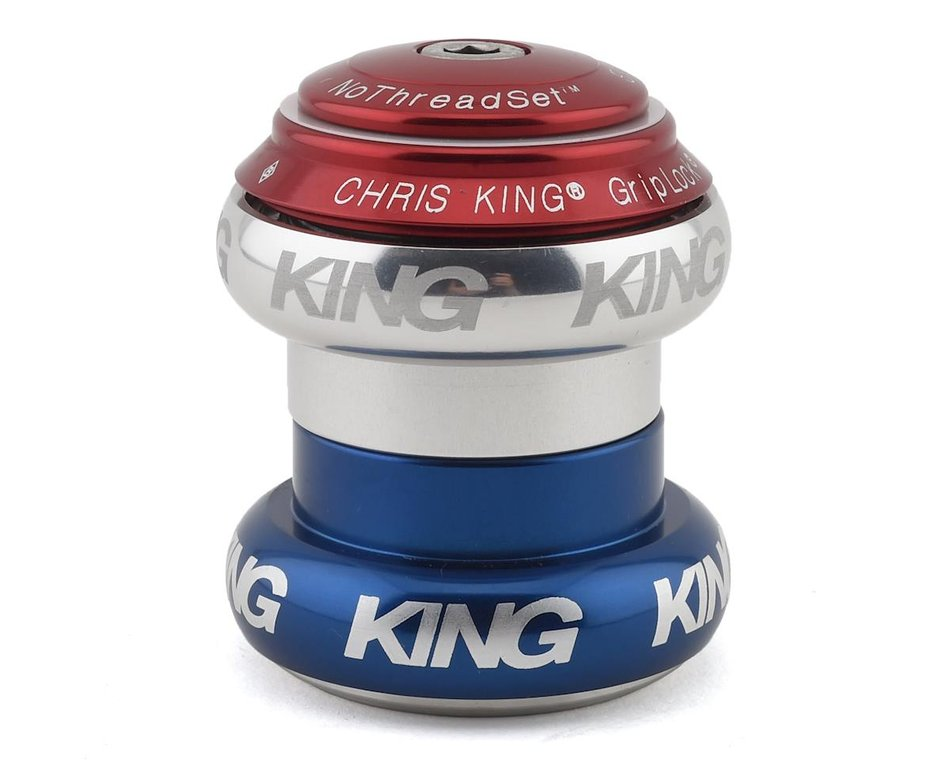 """CHRIS KING No Threadset Bold 1-1//8/"""" inch Threadless Bicycle Headset 4 Colors"""