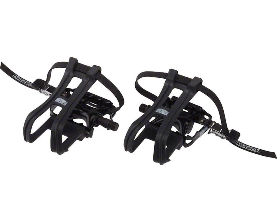 Toe Clip Set And Strap Size Medium For Bike M