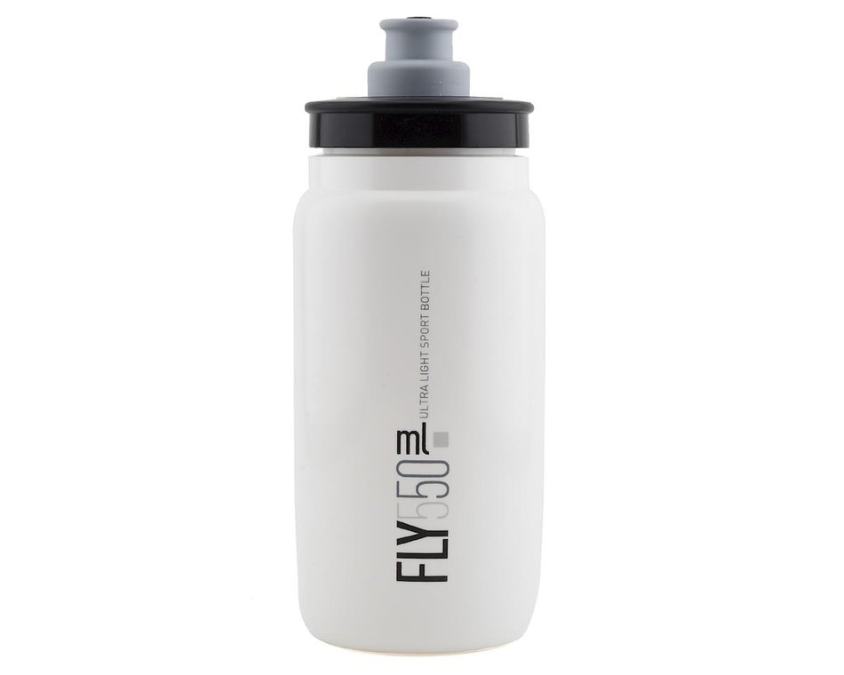 elite fly bottle white 550ml 160445 accessories nashbar elite fly bottle white 550ml